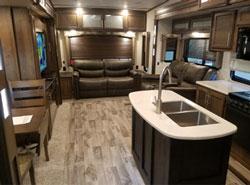 Keystone Cougar 338RLK interior